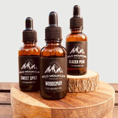 beard oil scents