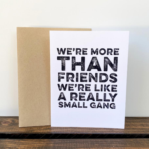 friends notecard